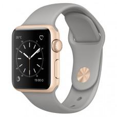 Смарт-часы Apple Watch S2 Sport 38mm Gold Al/Concrete (MNP22RU/A)