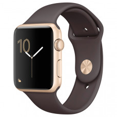 Смарт-часы Apple Watch S2 Sport 42mm Gold Al/Cocoa (MNPN2RU/A)
