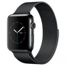 Смарт-часы Apple Watch S2 42mm Sp.Bl St.St/Sp.Bl Milan (MNQ12RU/A)