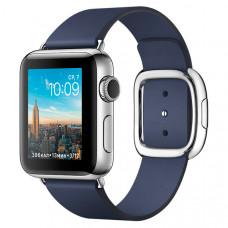 Смарт-часы Apple Watch S2 38mm St.Steel/BlueMod.Buck.M (MNP92RU/A)