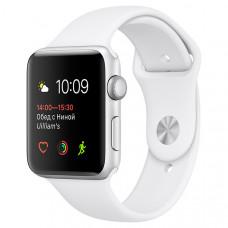 Смарт-часы Apple Watch S1 Sport 42mm Silver Al/White (MNNL2RU/A)