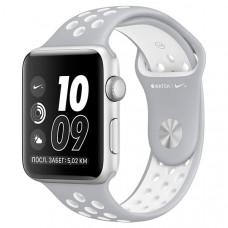 Смарт-часы Apple Watch Nike+ 38mm Silver Al/White (MNNQ2RU/A)