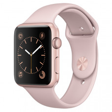 Смарт-часы Apple Watch S2 Sport 42mm Rose Gold Al/Pink (MQ142RU/A)