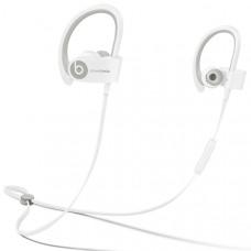 Спортивные наушники Bluetooth Beats Powerbeats 2 Wireless White (MHBG2ZM/A)